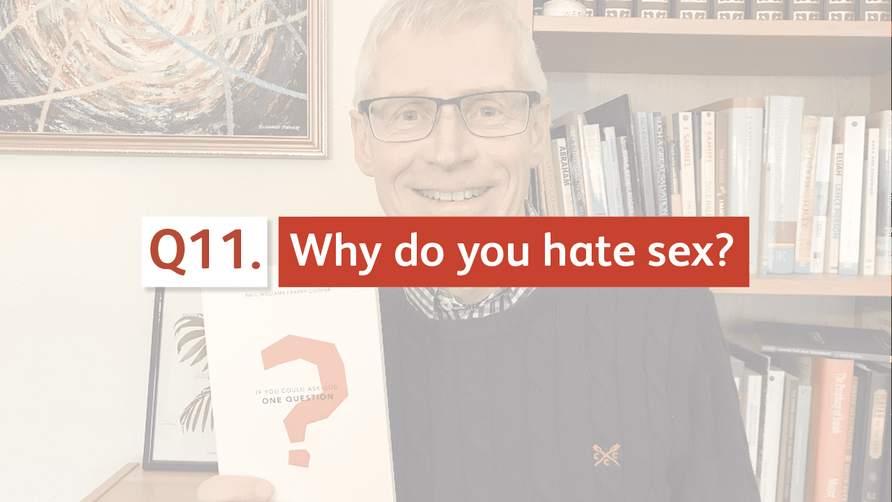Why do you hate sex?